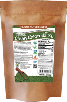 health ranger store clean chlorella powder