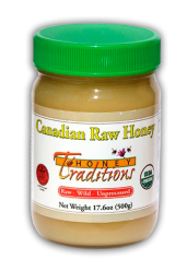 Tropical Traditions Canadian Raw Honey