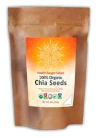 The Health Ranger's Select 100% Organic Chia Seeds