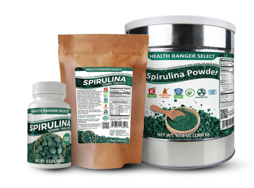 spirulina products HRS