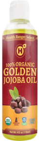 100% Organic Golden Jojoba Oil
