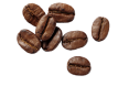 eight coffee beans