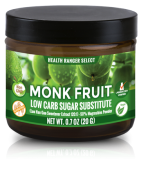 Monk Fruit Extract Powder - Low Carb Sugar Substitute 0.7 oz (20 g)