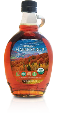 Health Ranger Select Premium Organic Maple Syrup 12 oz - Grade A (355 ml)
