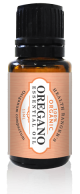 Oregano essential oil bottle