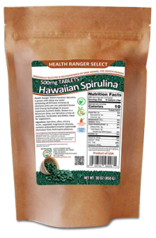 Hawaiian Spirulina Cold Pressed 500 mg