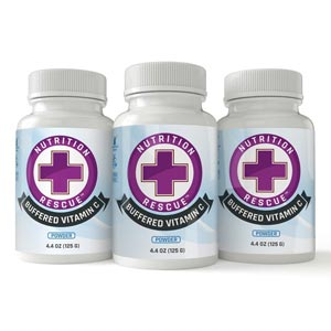 Buffered vitamin C 3 pack