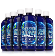 silver mouthwash 6 pack