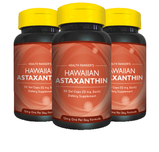 Astaxanthin pack of 3