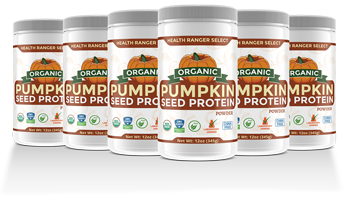 Health Ranger Select Organic Pumpkin Seed Protein Powder 6-pack