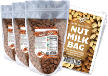 ORGANIC RAW ALMOND X3 WITH NUT MILK BAG
