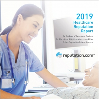 Cover Image - 2019 Healthcare Reputation Report