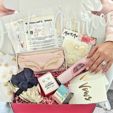 Miss To Mrs Theme 3 Box Wedding Day Essentials