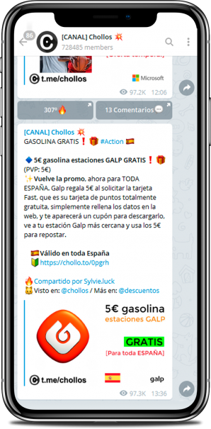 iPhone X Canal de Chollos en Telegram