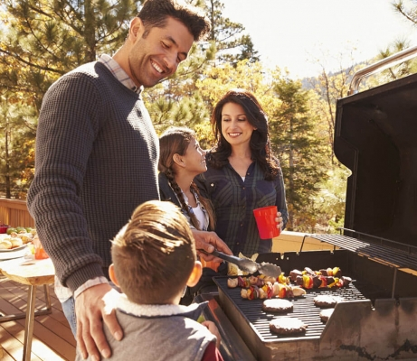 Home Equity Loan: Family BBQs on New Backyard Deck