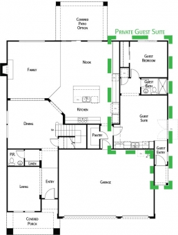 New Homes with Guest Suites in Roseville, CA, Rocklin, CA