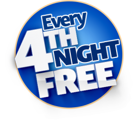 4th night free logo