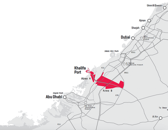 Kizad Location