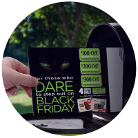 Spectrum Marketing Edge Advantage Black Friday Direct Mail