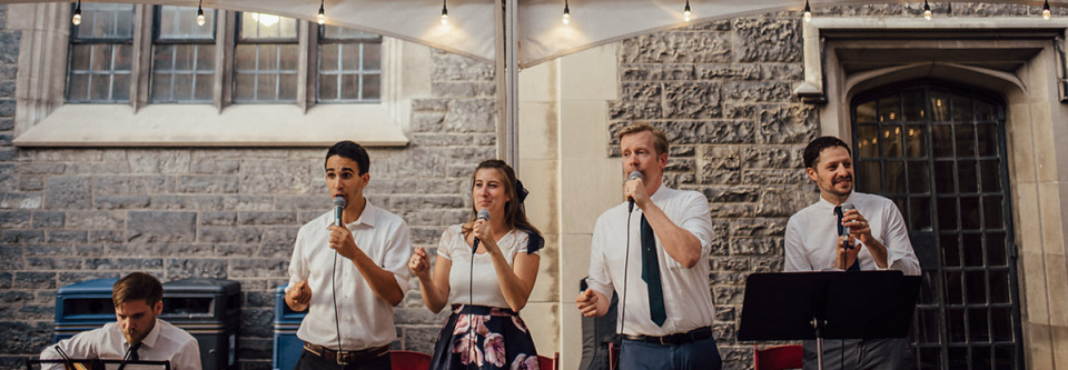The Redeemers - Live Singing at Wedding