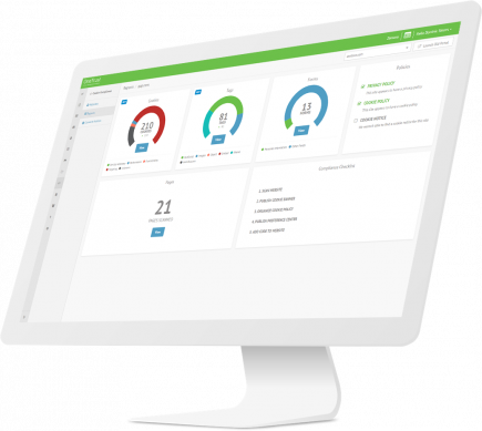 OneTrust Cookie Dashboard