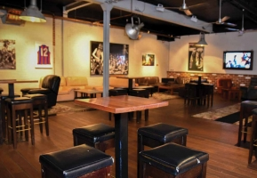 A Lounge Atmosphere Paying Homage To Port Melbourne S Pub Origins The Venue Opens Out Onto Nature Strip For Ally Lit E