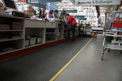 Anti-Fatigue matting at bunnings