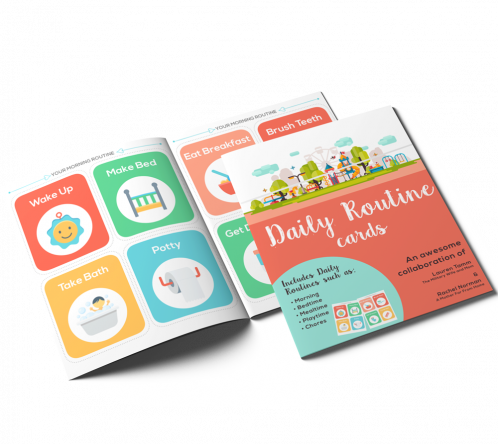 Printable Daily Routine Cards