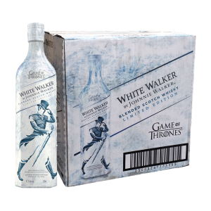 johnnie walker white walker carton