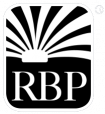 RBP logo icon white outline