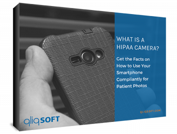 image of What is a HIPAA Camera ebook by QliqSOFT Secure Texting