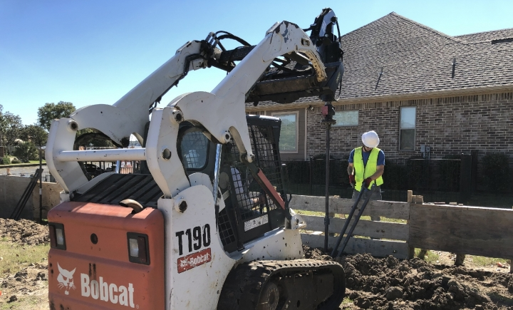 Texas Helical Piers Installation Residential Commercial New Construction Foundation Repair Dallas DFW Rockwall TX Best Company Near Me Services