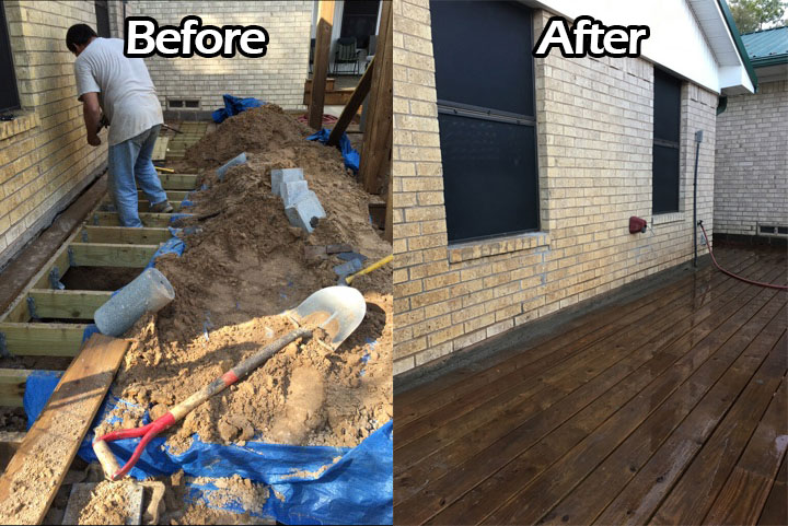 Rockwall Foundation Repair Residential Best Company Services Near Me TX DFW Before After 3