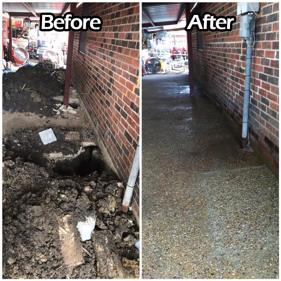 Rockwall Foundation Repair Residential Best Company Services Near Me TX Before After 1