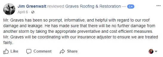 rockwall roofing contractor company roof repair best company near me tx roofer facebook review 4