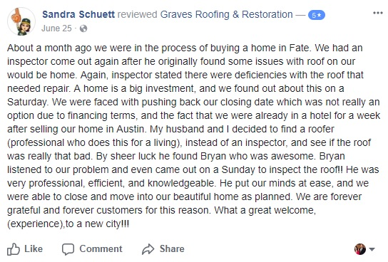 rockwall roofing contractor company roof repair best company near me tx roofer facebook review 7