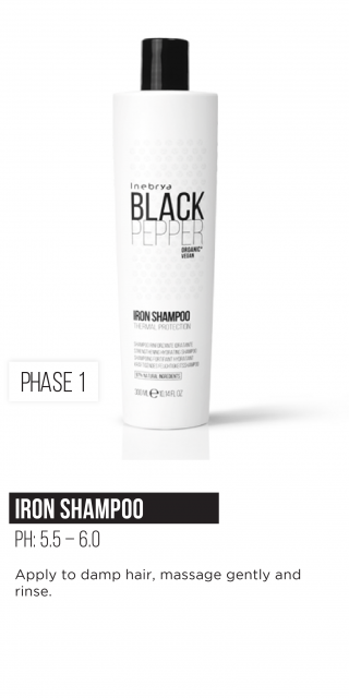 Inebrya Black Pepper Iron Shampoo