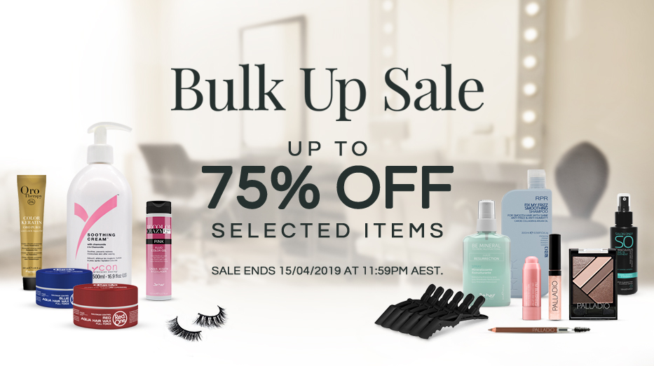 Bulk Up Sale up to 75% OFF