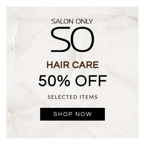 Salon Only 50% OFF