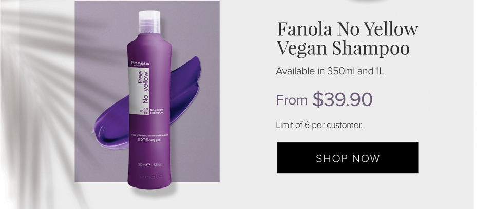 Fanola No Yellow Vegan Shampoo