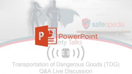 Safeopedia TDG Webinar