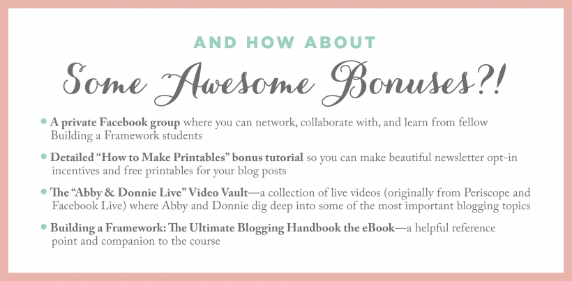 Building a framework the ultimate blogging handbook we cover the best practices for all of the major areas of blogging so you can be confident that youre taking the right steps from day one you can do this fandeluxe Choice Image