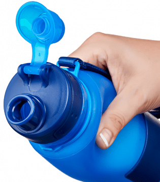 hand squeezing nomader collapsible water bottle.png