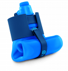 nomader collapsible water bottle folded up