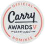 Carryology Carry Awards V nominee badge