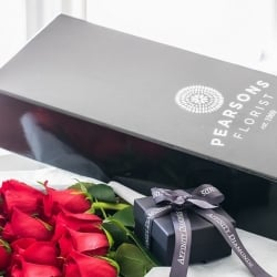 Pearsons Florist and Affinity Diamonds Gift Boxes