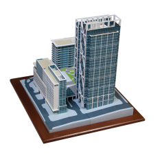 Atlanta City Block 3D Render