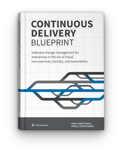 Continuous Delivery blueprint Book cover