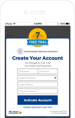 CVA 7 day free trial mobile
