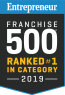 Entrepreneur Franchise 500 Top Global Franchise 2018